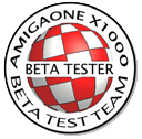 Official AmigaONE X1000 Beta Test Member